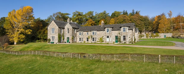Luxury Scottish sporting lodges